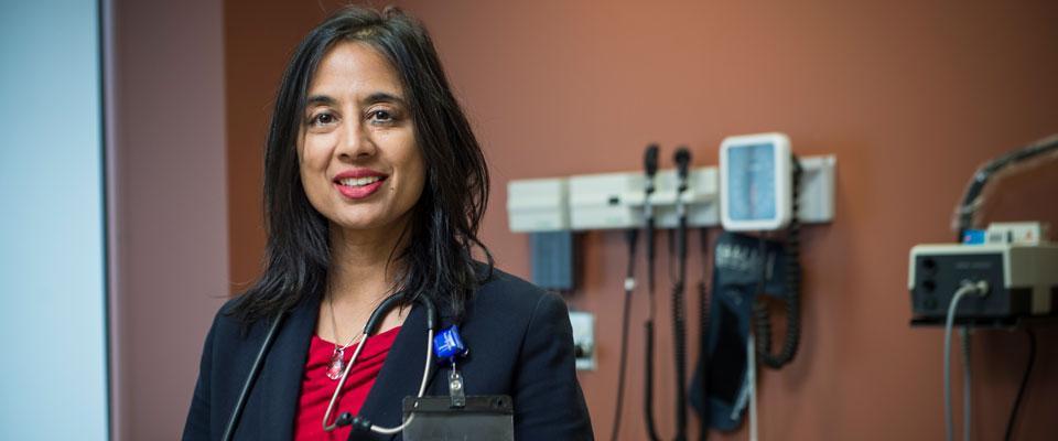 Dr Wendy  R.  Parulekar,  Senior  Investigator  at   CCTG